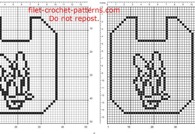 Free filet crochet pattern baby bib with Disney Daisy Duck